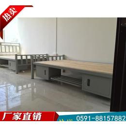 現貨鋼制雙層床 工廠員工上下鋪鐵架床 物美價廉