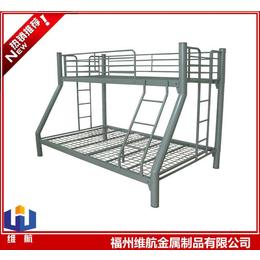 鐵質子母床 家用鋼制上下鋪 工廠學校宿舍鐵床
