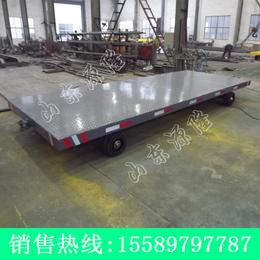 源隆定做各种8吨平板拖车 8吨厂区平板车 8吨qy8千亿国际底盘车
