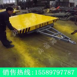 源隆定做16吨支腿平板拖车 大吨位平板拖车 工厂支腿式平板车