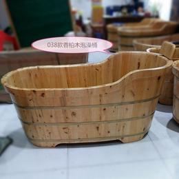 需要木桶浴盆的好日子来了 齿接香柏木泡澡桶一个也按出厂价