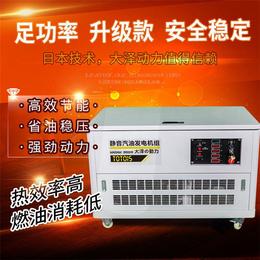 体积<em>小</em>的30千瓦<em>汽油</em><em>发电机组</em>