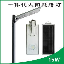 户外照明感应灯15w一体化太阳能led发电农村道路灯