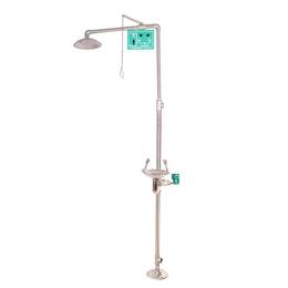 青岛BTF11复合式冲淋洗眼器淄博不锈钢紧急喷淋洗眼器