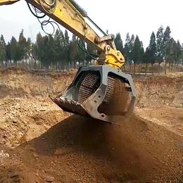 洗煤斗挖机滚筒筛选斗水洗煤炭