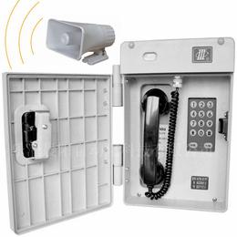 供应厂家直发2018新款现货HAT86数字抗噪扩音电话机