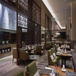 伟天盛供应西餐厅黑钛不锈钢隔断屏风玫瑰金不锈钢屏风缕空