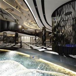 定做酒店大堂黑钛不锈钢隔断屏风香槟色不锈钢玄关屏风
