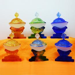 裝藏琉璃佛具廠家直銷 佛教用品批發 廣州深圳琉璃工廠