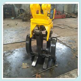 厂家现货直销挖机抓木器旋转式抓木器 挖机配件360旋转