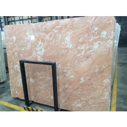 大板面高品质橙皮红大理石