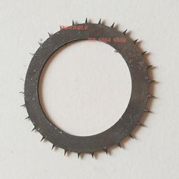 圆形齿刀67x46x1包装塑料纸虚线打孔圆刀片
