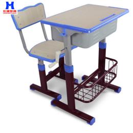 课桌椅儿童厂家直销学生家用单人手摇升降学校培训学习桌