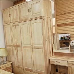 江西松木衣柜定制 整体衣橱全屋定做 环保家具