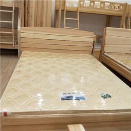 南昌青华家具  实木环保双人床 松木家具定制缩略图