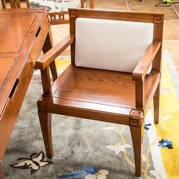 实木茶几新中式餐椅白蜡木茶几价格家具定制批发
