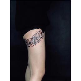 花体字纹身手臂纹身套图缩略图
