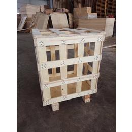 木箱堆码实验实木可摔落结实载重量大