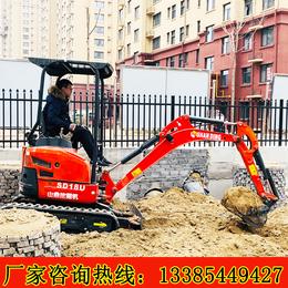 小型挖掘价格机 山鼎小型挖掘机厂家