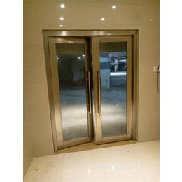 固盾乙级不锈钢大玻璃防火门生产过程严把质量关