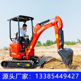 圣山 荒山开发小挖机 山东小挖机 1.8吨橡胶履带挖掘机