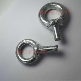石标牌4.8级镀锌吊环螺栓a吊环螺丝a吊环厂家