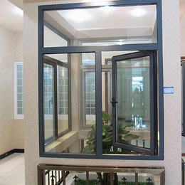 铝合金门窗 隔音防蚊窗纱一体缩略图