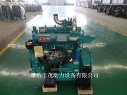 潍坊4105发电型柴油机配套50千瓦全铜发电机生产供应厂家