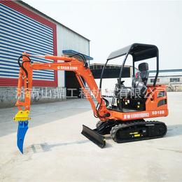 橡胶履带挖掘机价格 1.8吨果园挖掘种植制造生产全新挖机