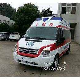 江铃新款长轴监护型救护车图片