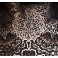 """神秘的梵花纹身图案,智慧与希望的""""天界之花"""""""