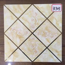 K303暖色系琥珀釉K金砖