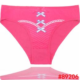 89206厂家直销外贸女士内裤南美货源女式三角裤印花女短裤
