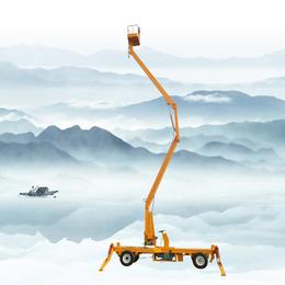 18米柴油机驱动升降机 18米自行升降车 18米升降平台