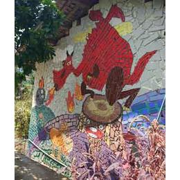 申达陶瓷厂(图)|陶瓷装饰壁画|壁画
