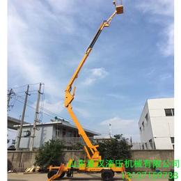 18米升降机18米升降平台柴油机曲臂升降机18米折臂升降平台