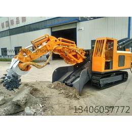 山重重工STX-120铣挖机功能特点及技术参数