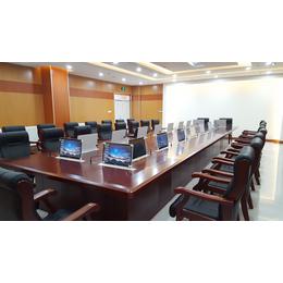 超薄升降器 无纸化会议qy8千亿国际电子桌牌