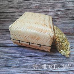生产厂家供应竹编包装盒