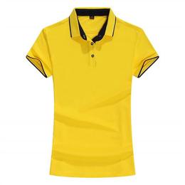夏季新款情侣polo衫青年短袖t恤翻领打底衫休闲T恤