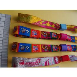 多功能涤纶户外热转印手腕带 彩色涤纶印花织唛腕带批发