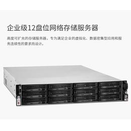 铁威马U12-420企业级12盘位nas网络存储服务器