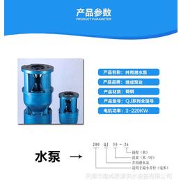 天津潜水深井泵厂家 天津深井潜水泵高效节能