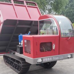 基建工程履带自卸车 复杂路况履带翻斗车