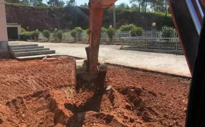 挖掘机如何找平,老司机带你开挖机