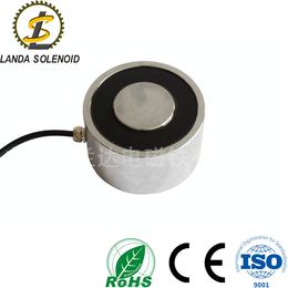 圆形吸盘式电磁铁HY12070 大吸力直流电磁