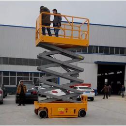 厂家直销石狮市10米全自行升降机报价 电池驱动升降平台报价