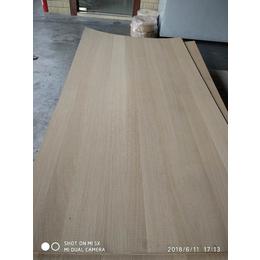 台湾南雄科定白橡锯齿纹木饰面板 工艺展架木质材料
