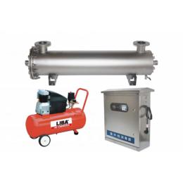 成都市小型城鎮污水處理廠專用管道式紫外線消毒器