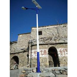 内蒙锂电池太阳能路灯5米6米灯杆报价清单